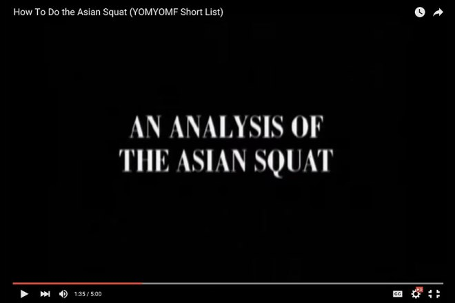 Asian squat video