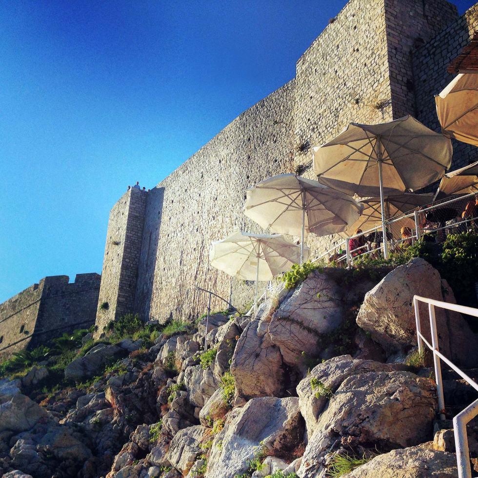 Cafe Buza, Dubrovnik, Croatia