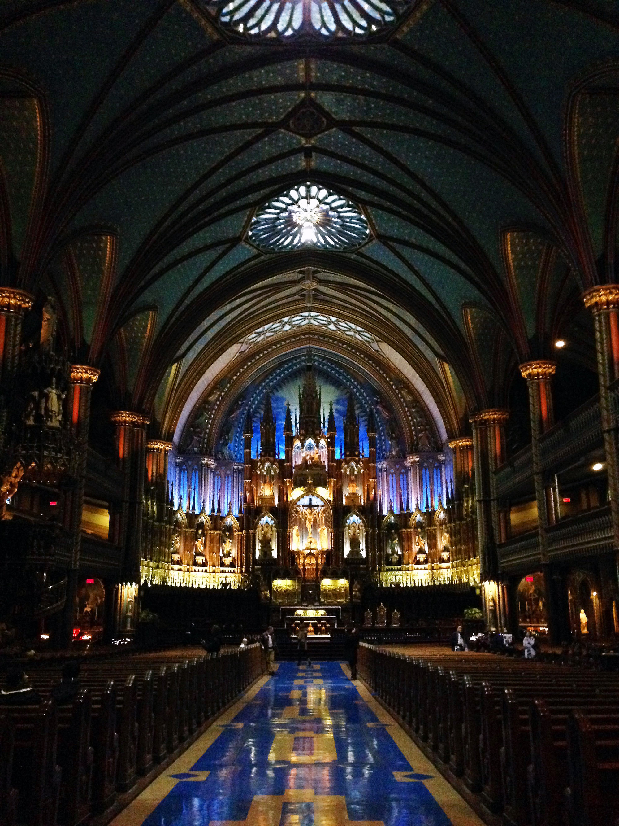Montreal's Notre Dame Basilica