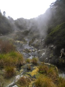 Waimangu Volcanic Valley, New Zealand