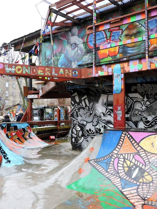Freetown Christiania skate park