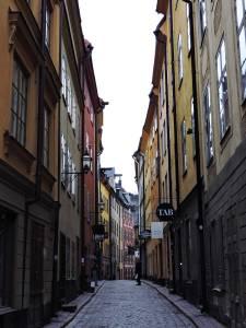 Stockholm city street