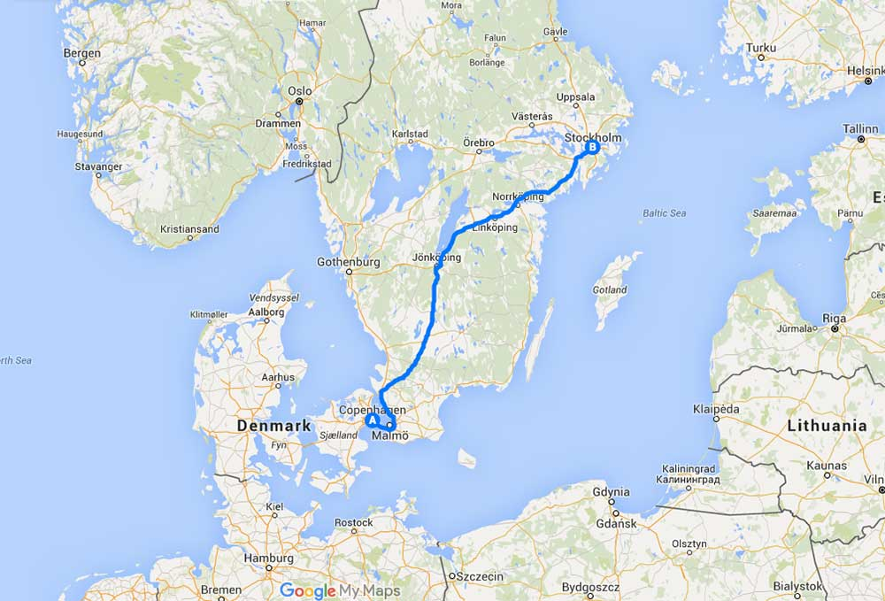 FEATURE A Weekend Jaunt in Copenhagen and Stockholm Part 1