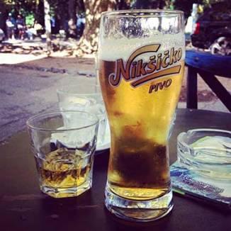 Drinks Around the World in Budva, Montenegro.