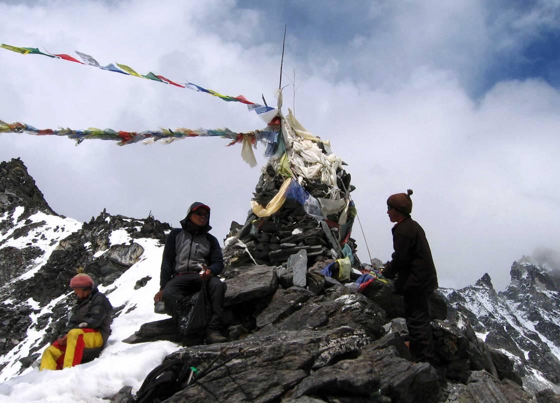 Himalayan peak in Nepal.