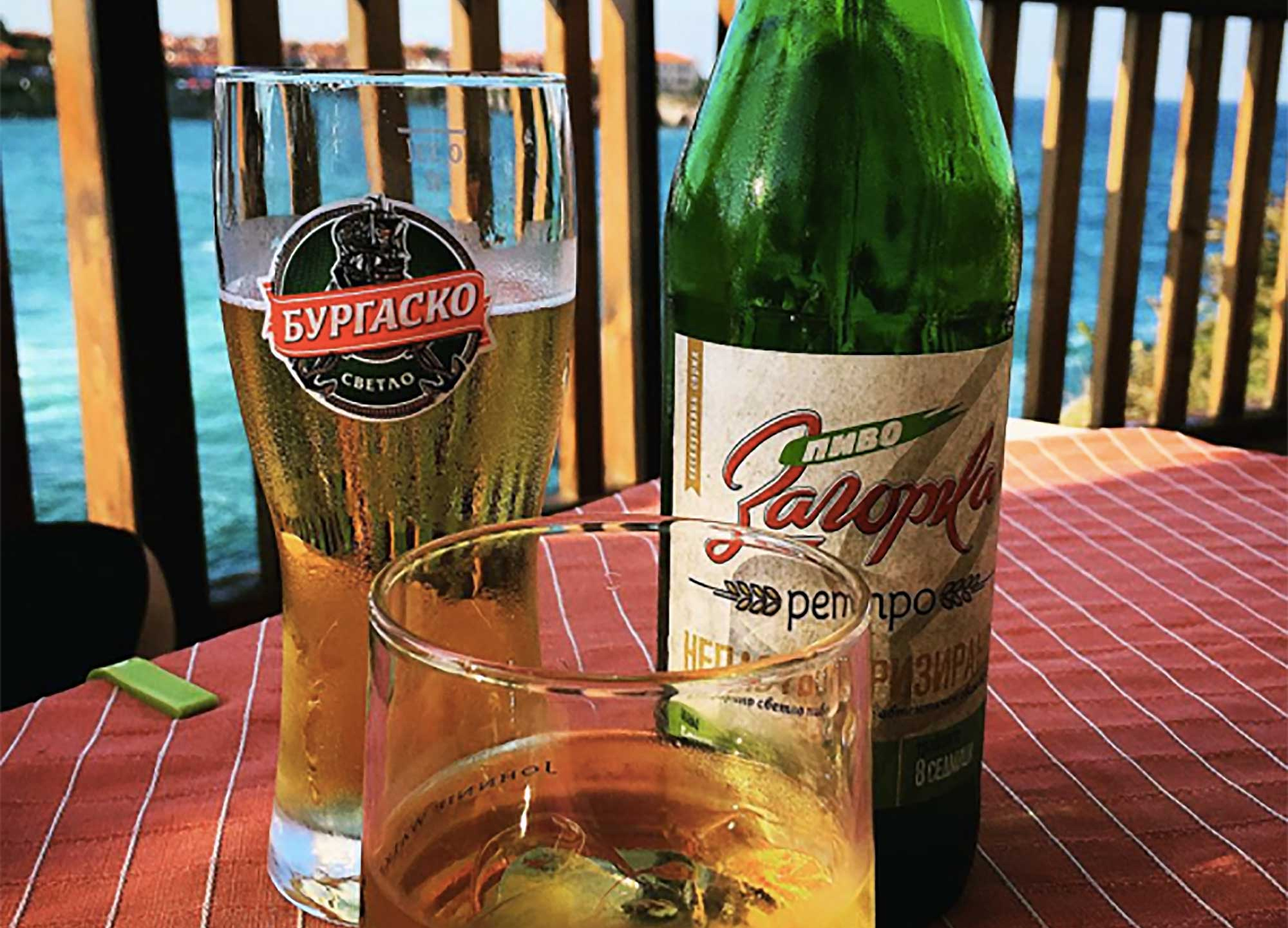 Drinks Around the World in Sozopol, Bulgaria