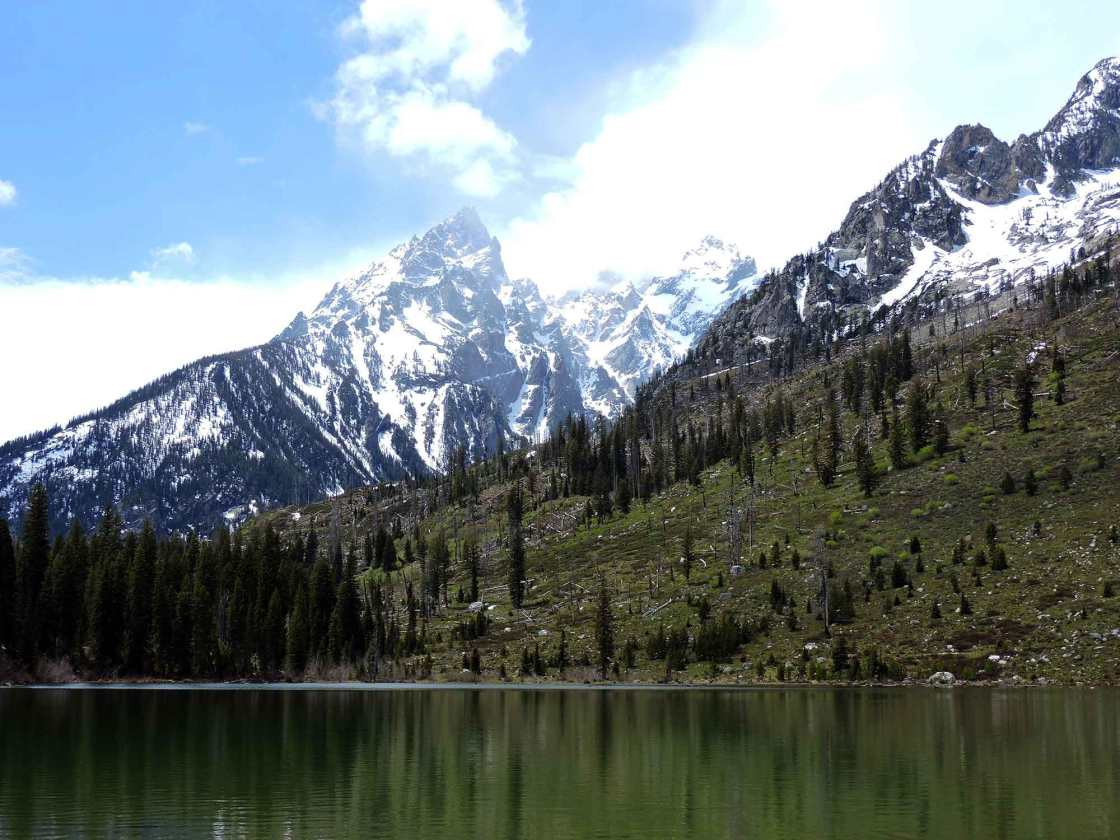 Cathedral Group peaks at String Lake