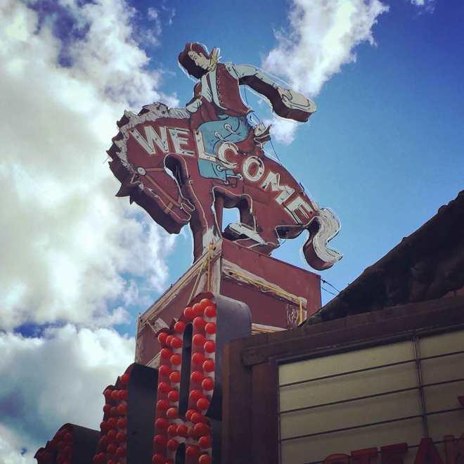 Million Dollar Cowboy Bar in Jackson Hole, Wyoming