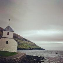 Kirkjubour outside Torshavn