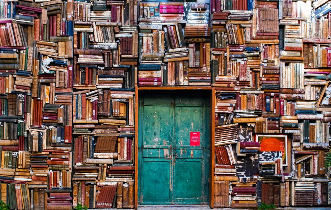 Bookstore facade