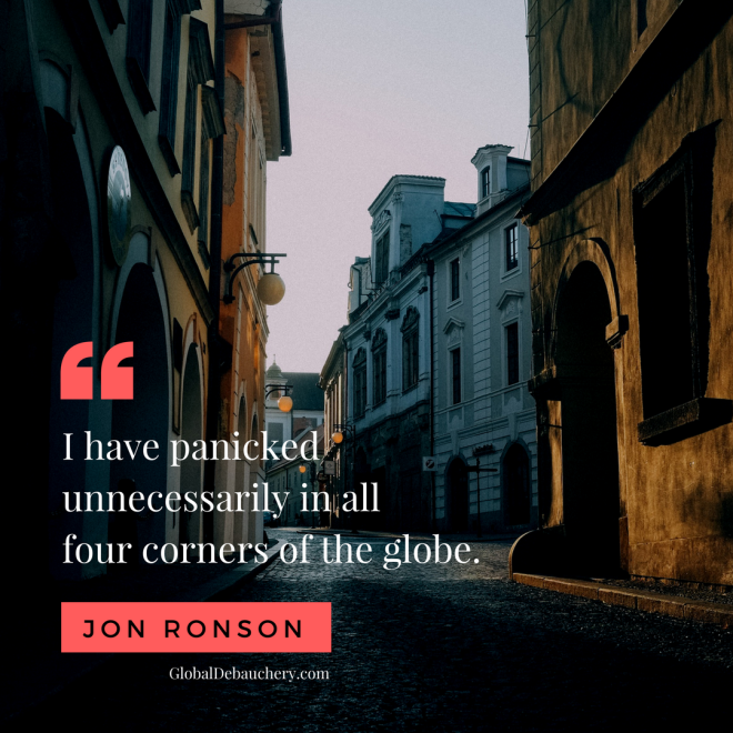 Jon Ronson travel quote