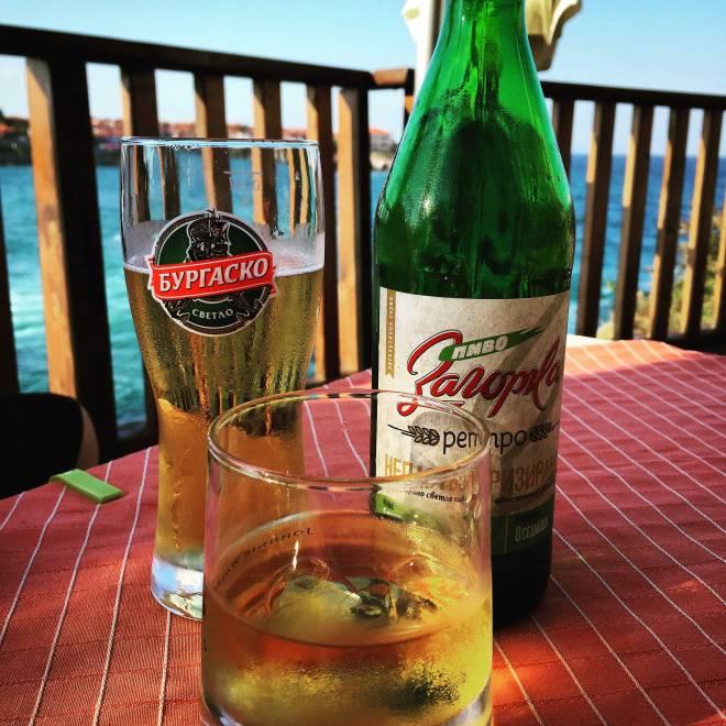 Drinks on the Black Sea