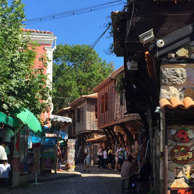 Downtown Sozopol street