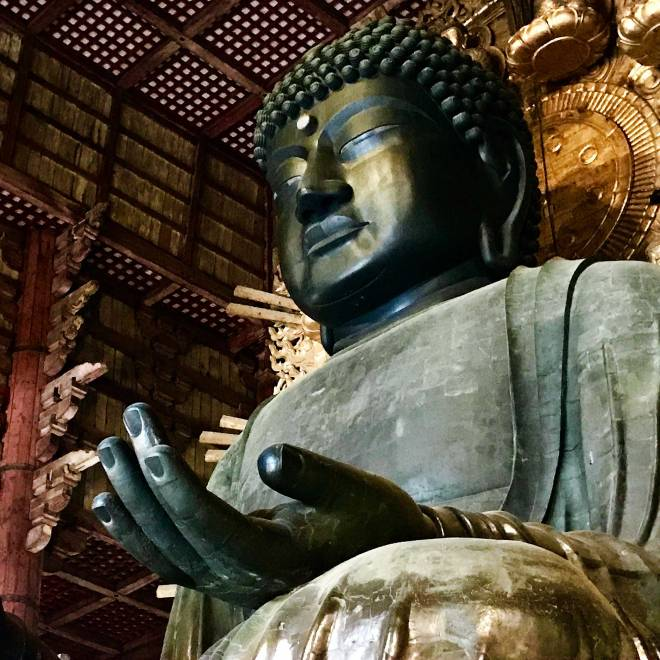 Big Buddha at Todai-Ji in Nara, Japan