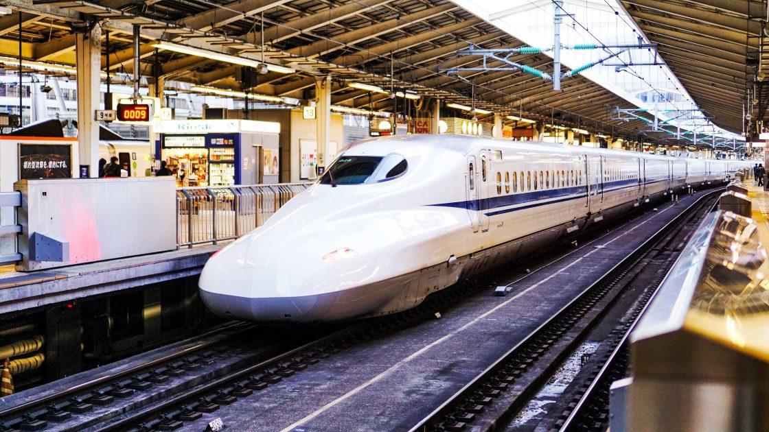 Tokyo-Kyoto bullet train