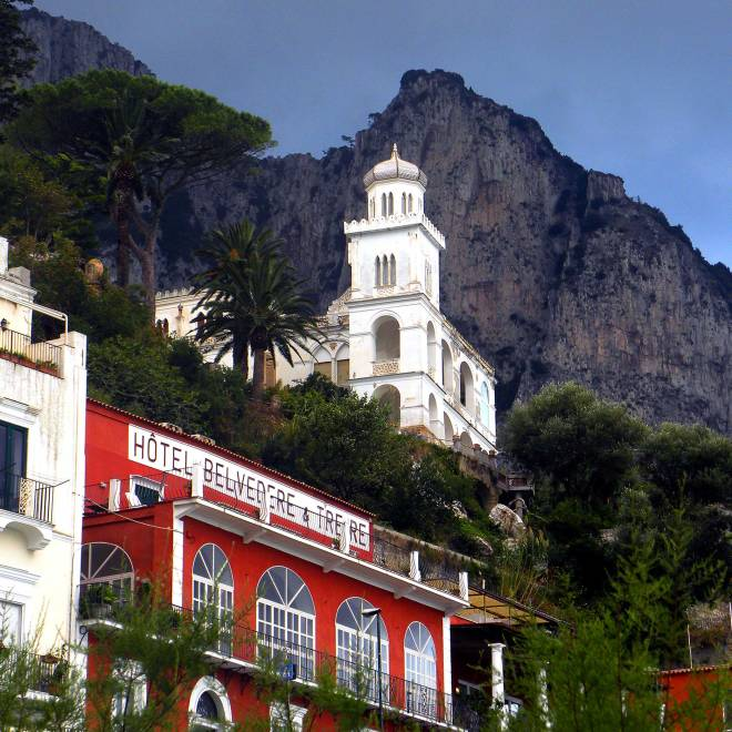 Church in Capri, Italy