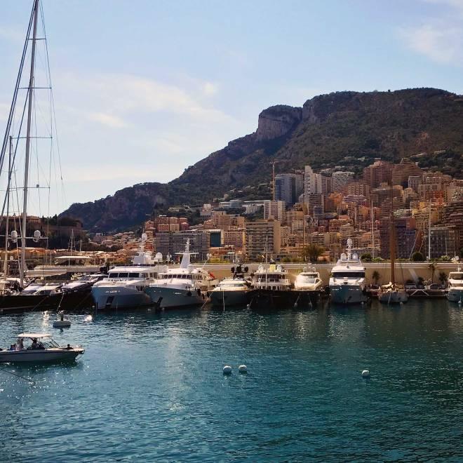 Yachts in Monaco