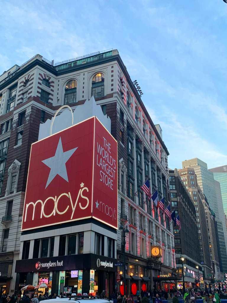 NYC Macy's bag