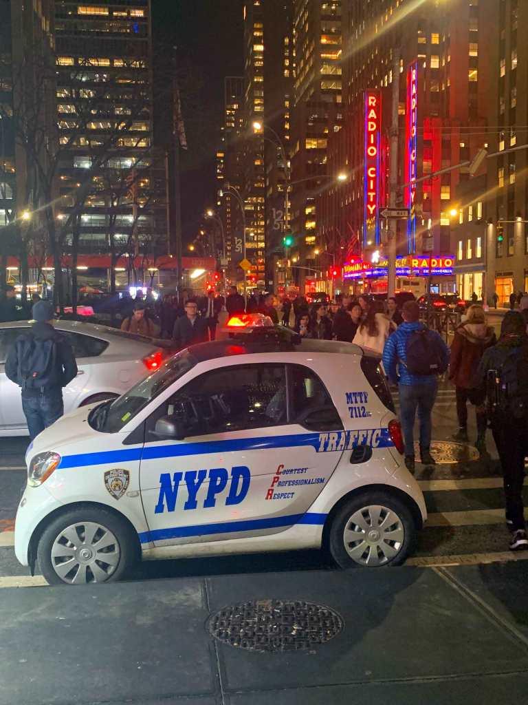 NYC police car