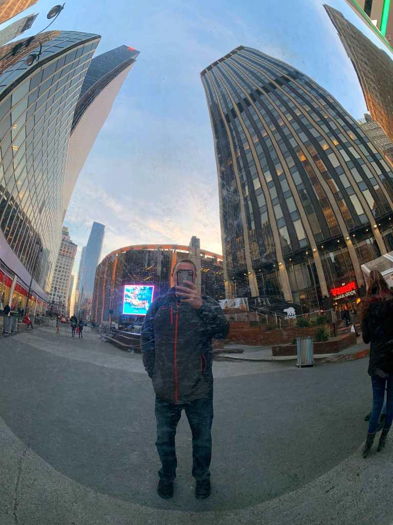 Jeff's New York City selfie