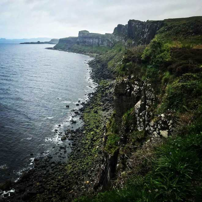 kilt rock on the isle of skye scotland
