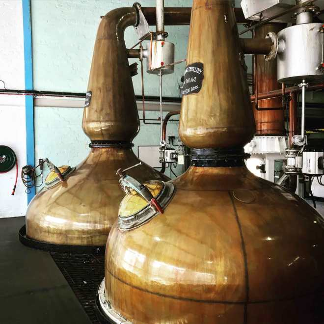 laphroaig stills in islay scotland